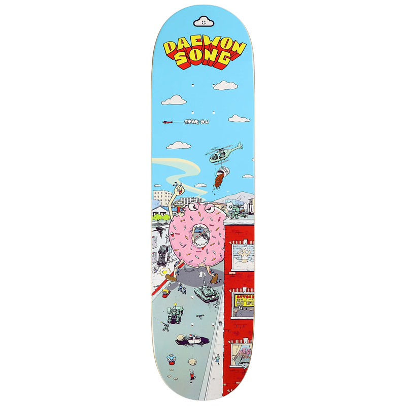 Thank You Daewon Song Rampage Skateboard Deck 8.125