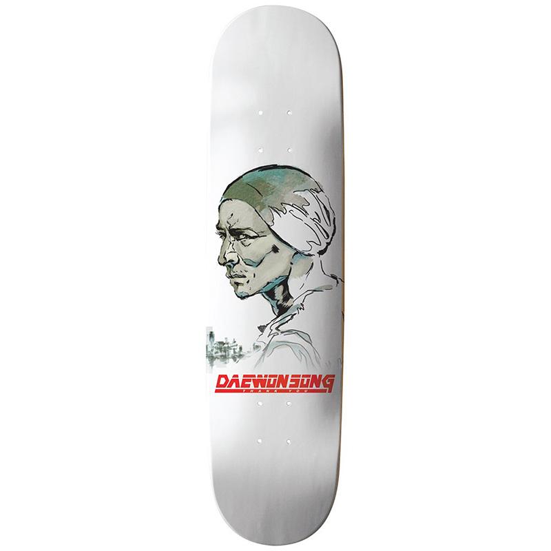 Thank You Daewon Song Solid Skateboard Deck White 8.25