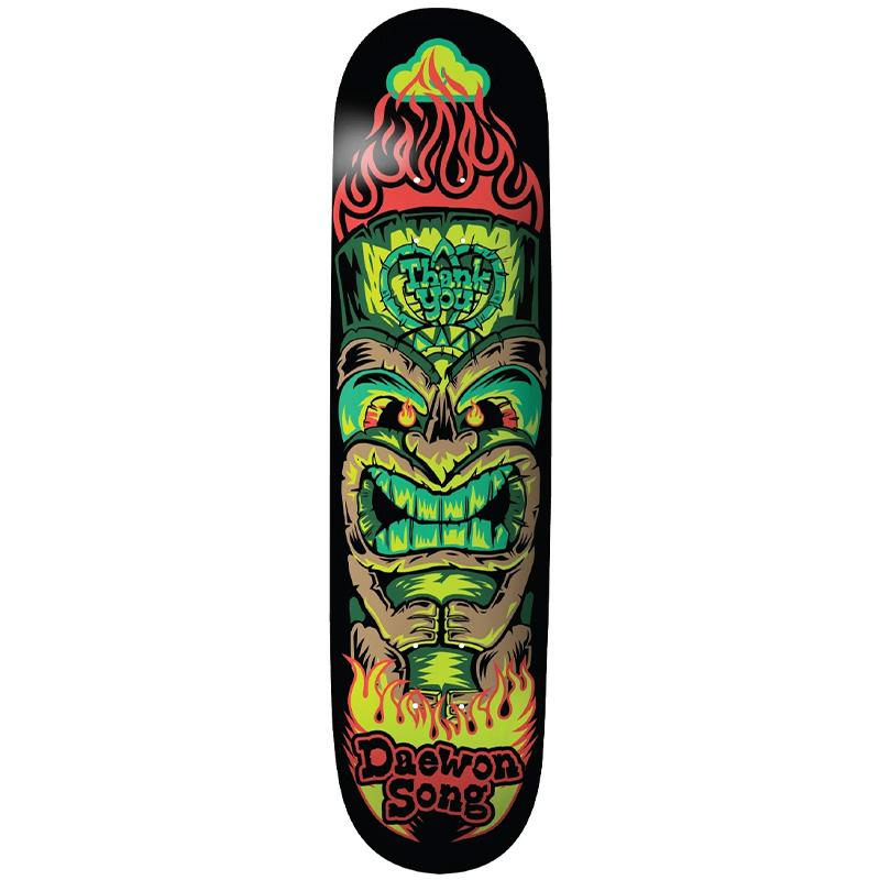 Thank You Daewon Song Tiki Skateboard Deck Multi 8.0