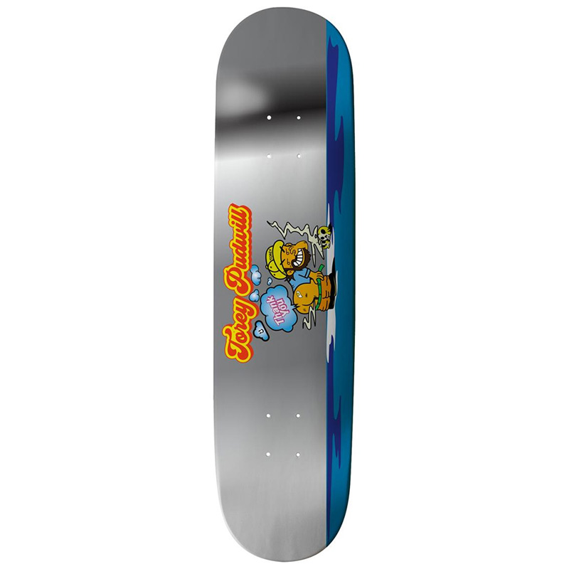Thank You Torey Pudwill Stinker Skateboard Deck Foil 8.25