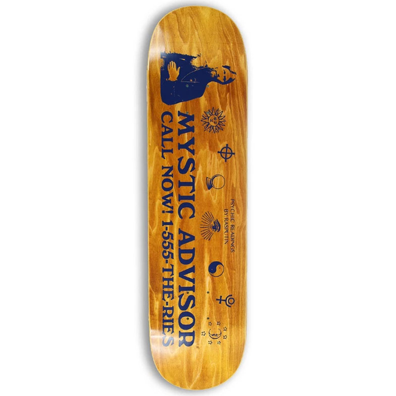 Theories Mystic Advisor Knock Out Skateboard Deck 8.0