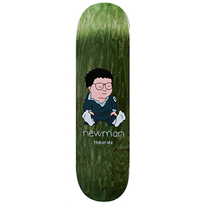 Theories Newman Assorted Veneers Skateboard Deck 8.0