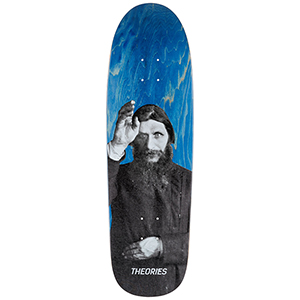 Theories Raspuitin Special Delivery Shape Skateboard Deck 9.0