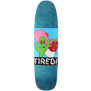 Tired Cactus Popsicle on Chuck Skateboard Deck 8.625