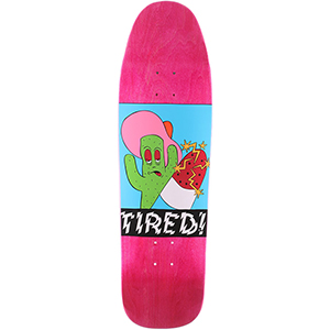 Tired Cactus Popsicle on Wanderer Skateboard Deck 9.25