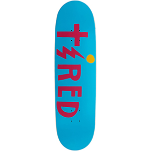 Tired Cross On Joel Skateboard Deck 8.625