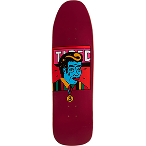Tired James On Stumpnose Skateboard Deck 9.0