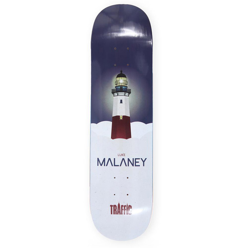 Traffic Cloud City Malaney Skateboard Deck 8.25