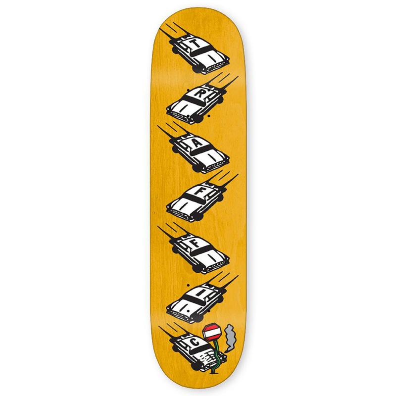 Traffic Fender Bender Skateboard Deck 8.0