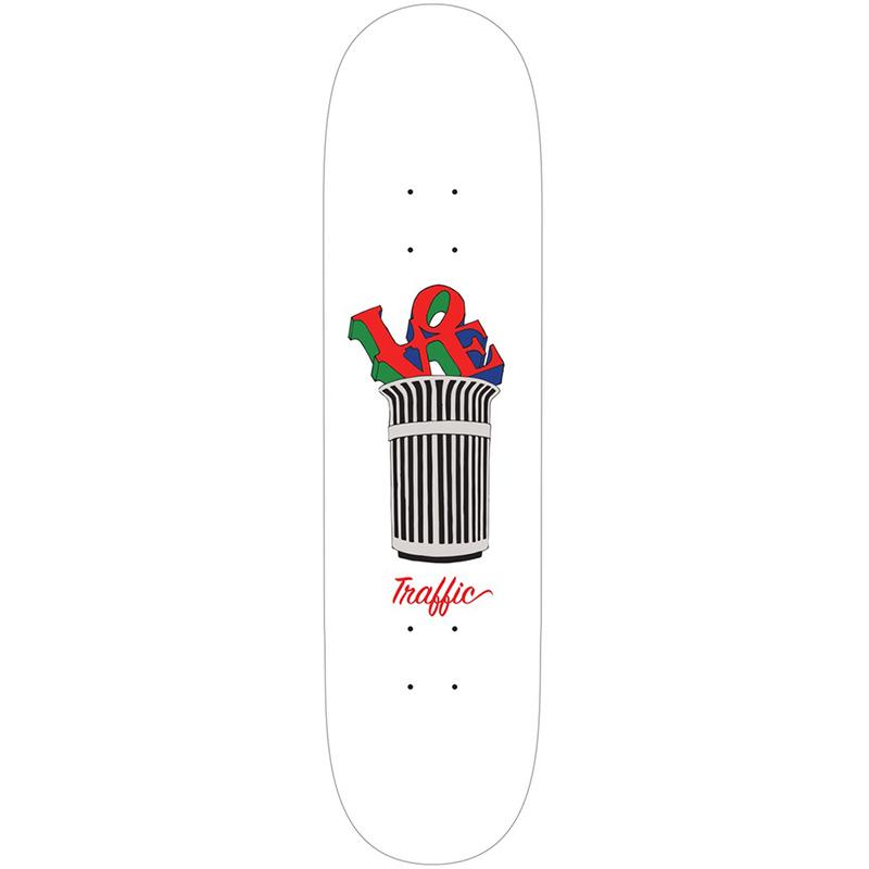 Traffic Parks & Rec Love Park Skateboard Deck 8.25
