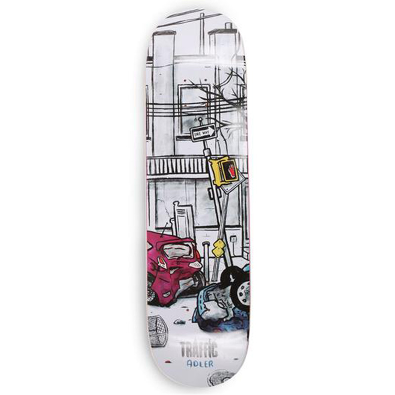 Traffic Wasteland Adler Skateboard Deck 8.0