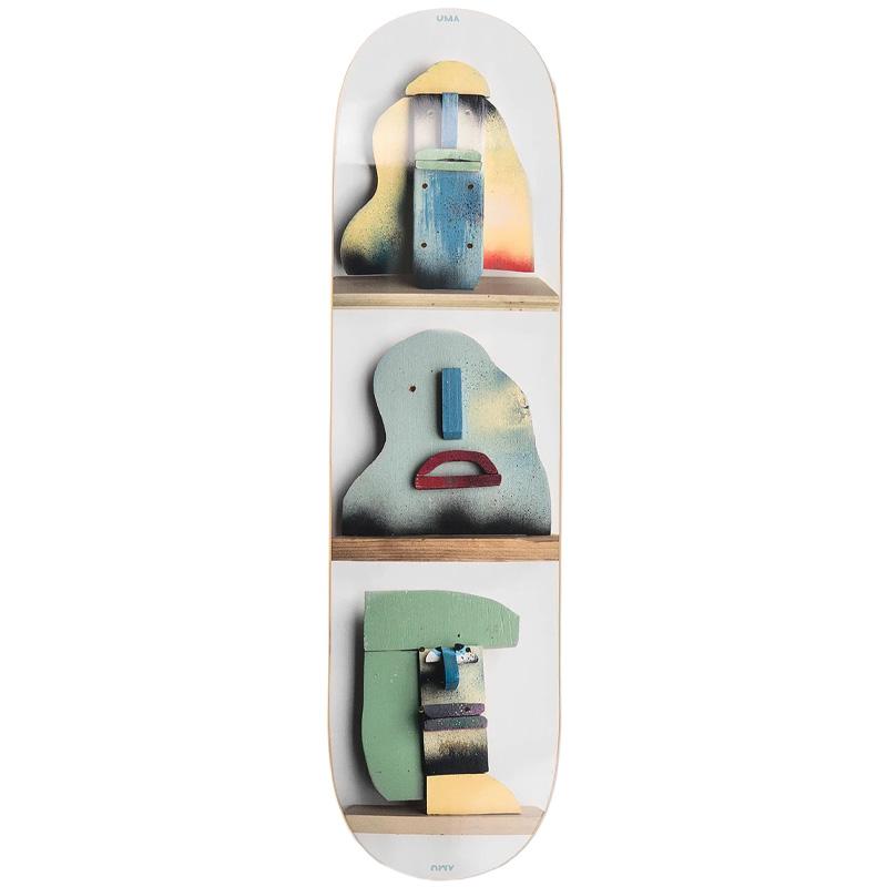 UMA Landsleds Blocks Skateboard Deck 8.25