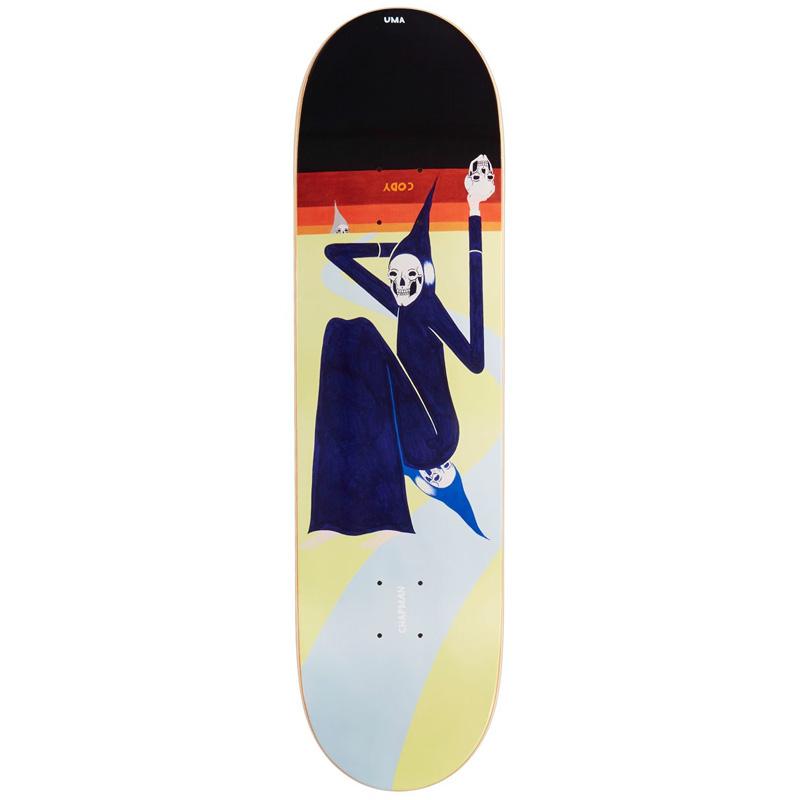 UMA Landsleds Cody Colman Skateboard Deck 8.38