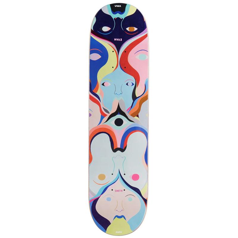 UMA Landsleds Evan Colman Skateboard Deck 8.0