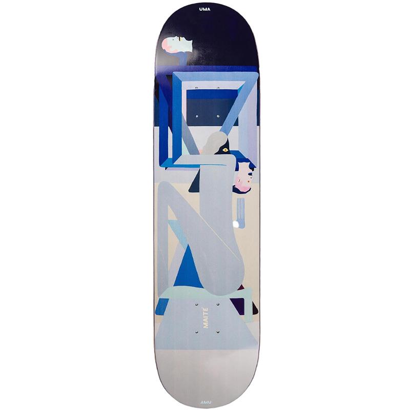 UMA Landsleds Maité Colman Skateboard Deck 8.25