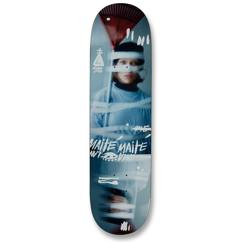 UMA Landsleds Maité Taped Up Skateboard Deck 8.25
