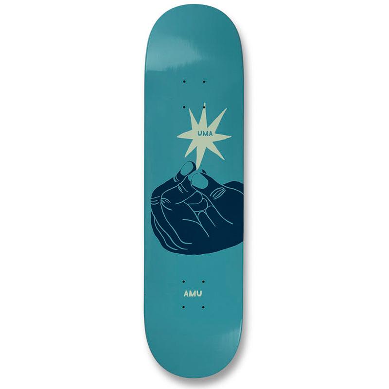 UMA Landsleds Whoisnt Skateboard Deck 8.5