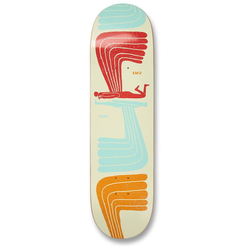 UMA Landsleds Wingwing Skateboard Deck 8.0