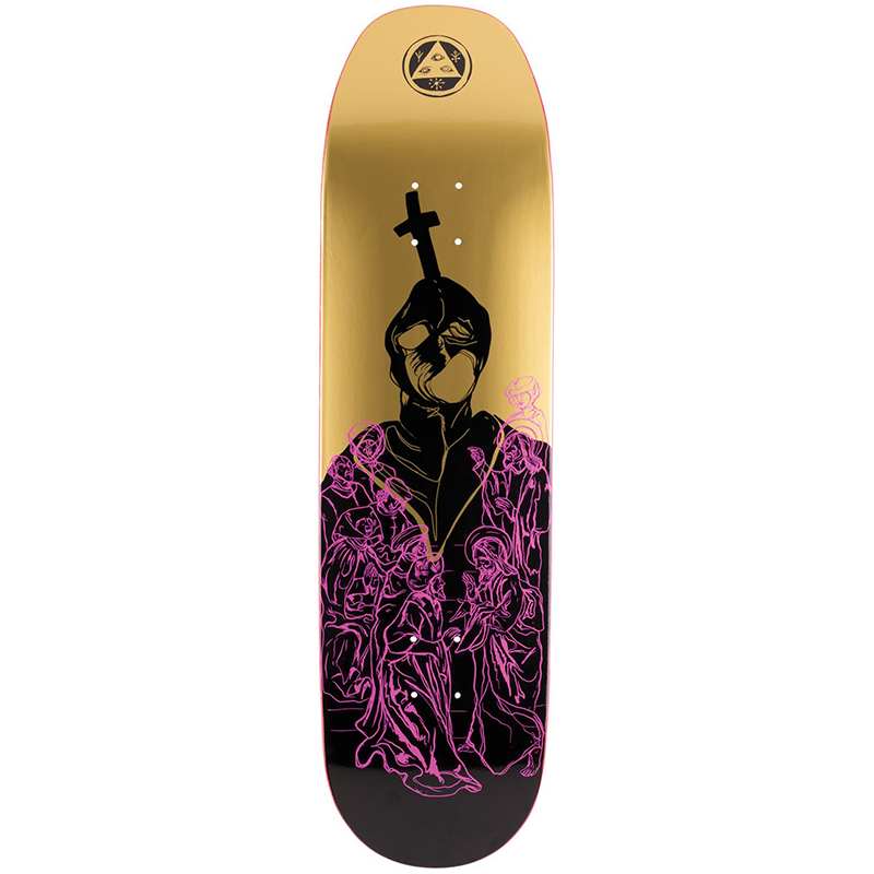 Welcome American Idolatry On Baculus Skateboard Deck Assorted Colours 8.75