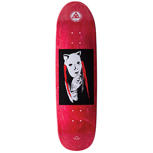 Welcome Audrey On Atheme Skateboard Deck Red 8.8