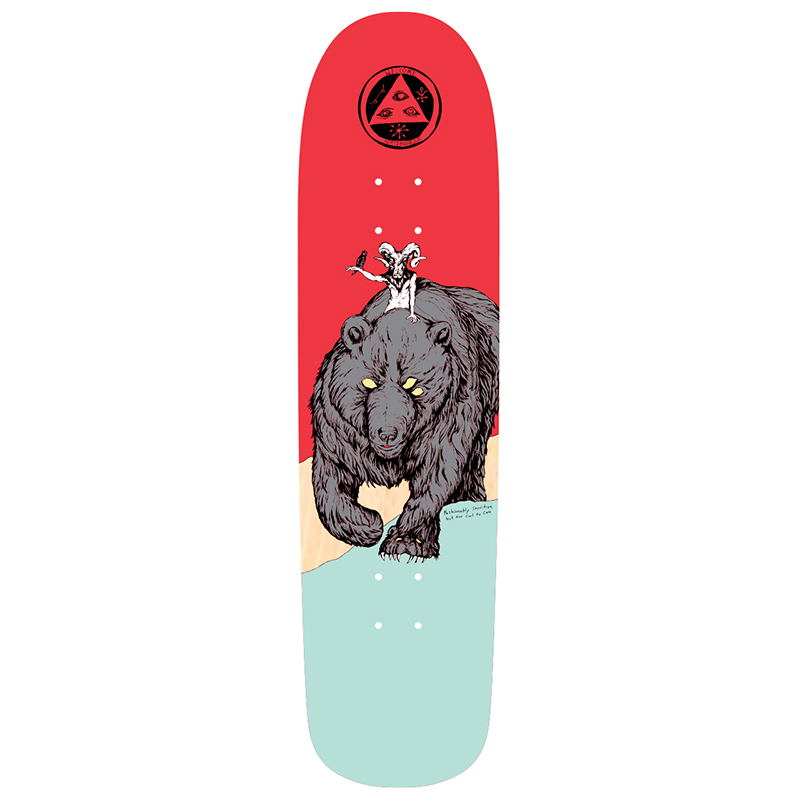 Welcome Balan On Son of Planchette Skateboard Deck 8.38