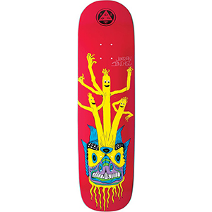 Welcome Balloon Boys Jordan Sanchez on Nibiru Skateboard Deck Red 8.75