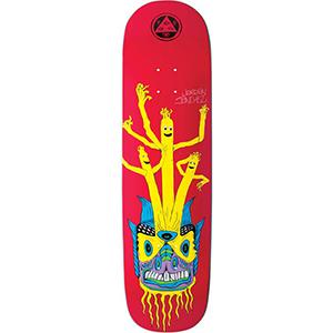 Welcome Balloon Boys Jordan Sanchez on Nibiru Skateboard Deck Red 8.75