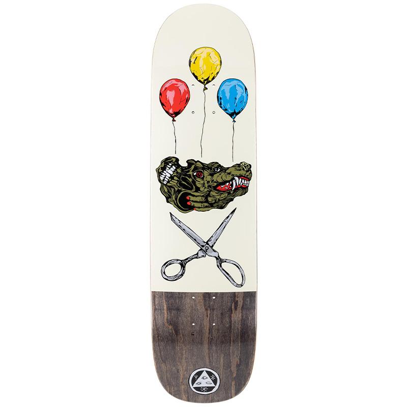 Welcome Bark On Big Bunyip Skateboard Deck Bone 8.5