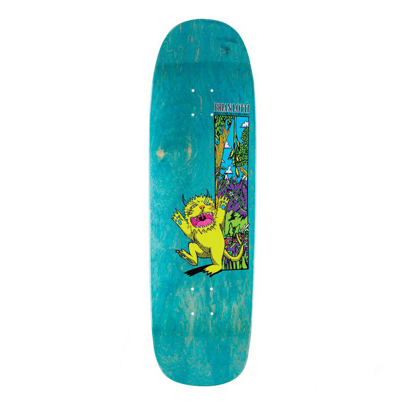 Welcome Brian Lotti Wild Thing Guest Model On Golem Skateboard Deck Assorted Colours 9.25