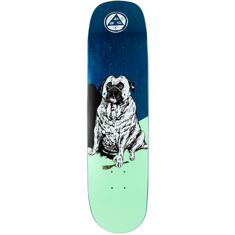 Welcome Common Goblin on Phoenix Skateboard Deck 8.0