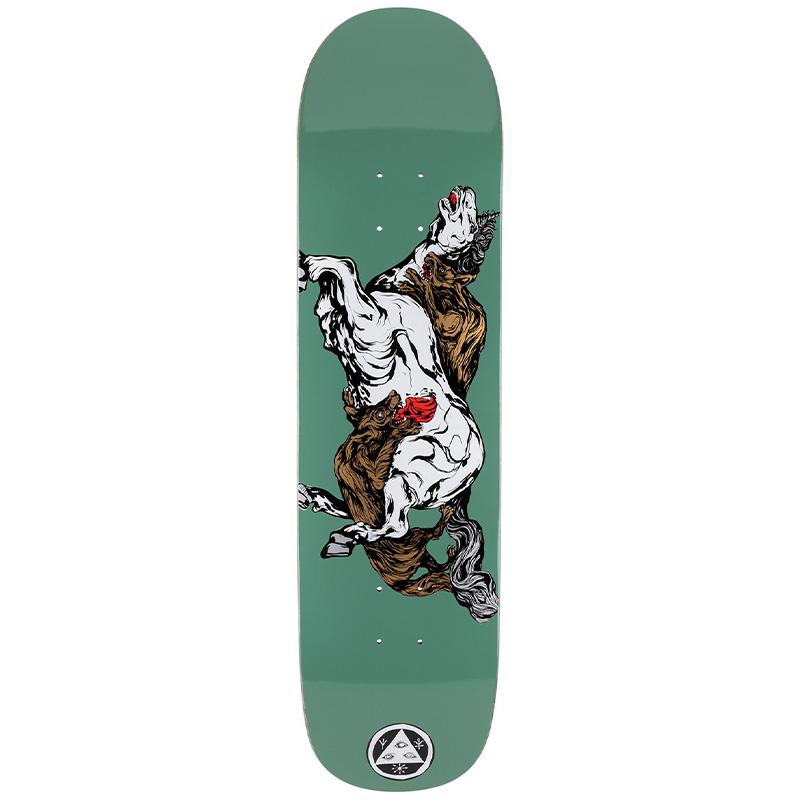 Welcome Goodbye Horses On Bunyip Mid Skateboard Deck Jade 8.25