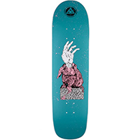 Welcome Magic Bunny On Son of Planchette Skateboard Deck Dark Teal 8.38
