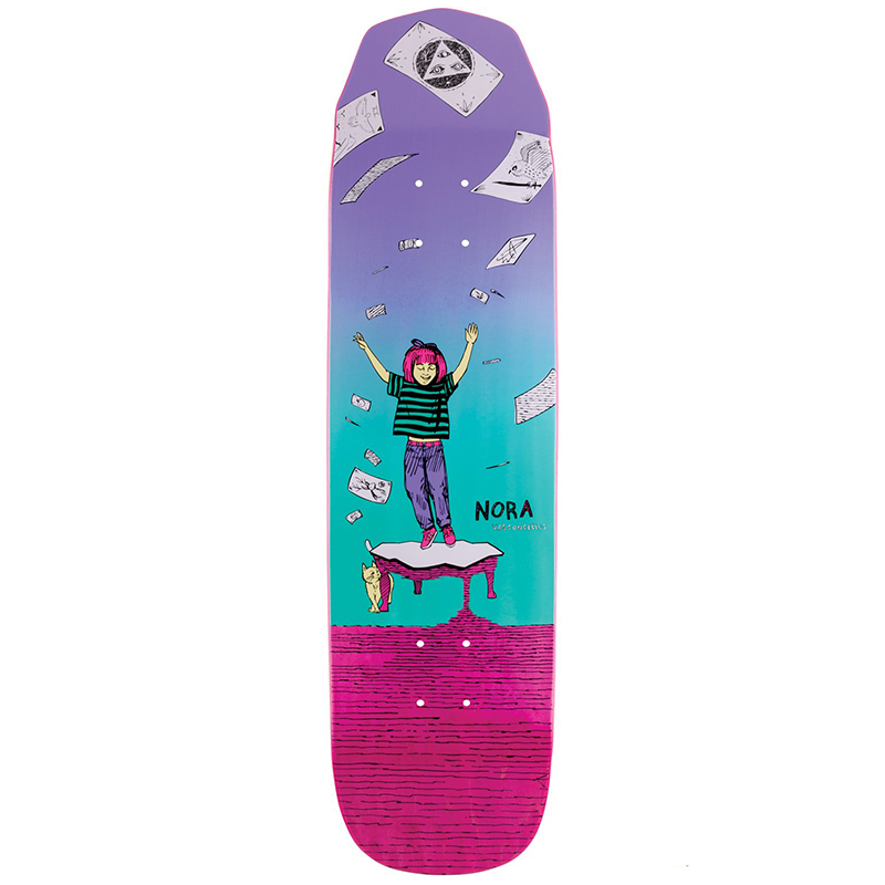 Welcome Magilda Nora Vasconcellos Pro Model On Wicked Princess Skateboard Deck Assorted Colours 8.125