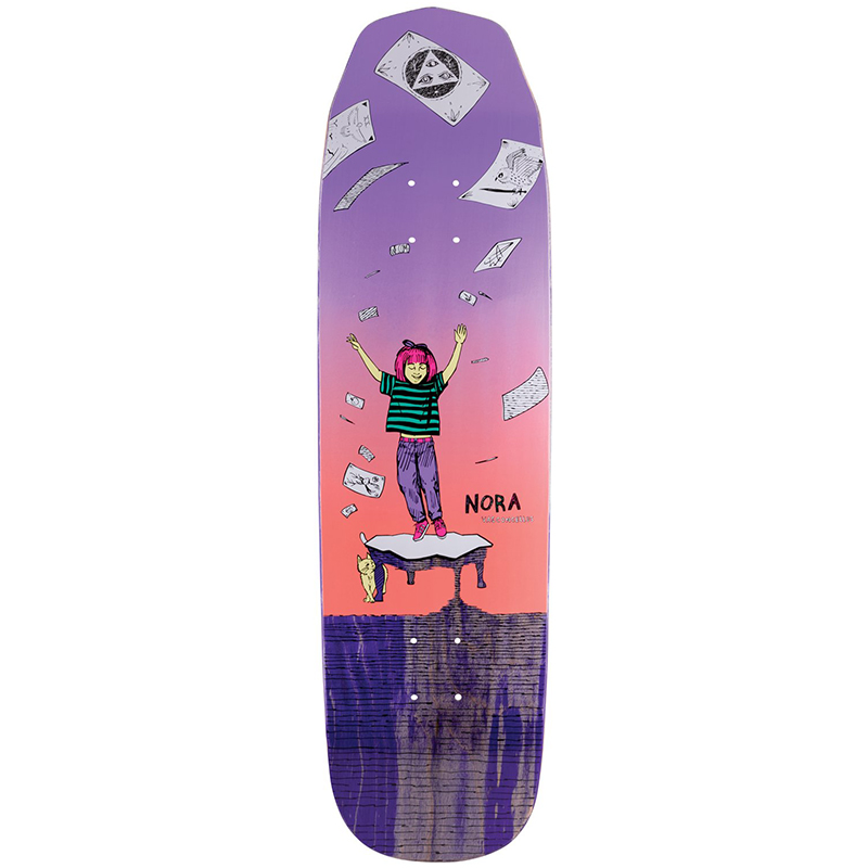 Welcome Magilda Nora Vasconcellos Pro Model On Wicked Queen Skateboard Deck Assorted Colours 8.6