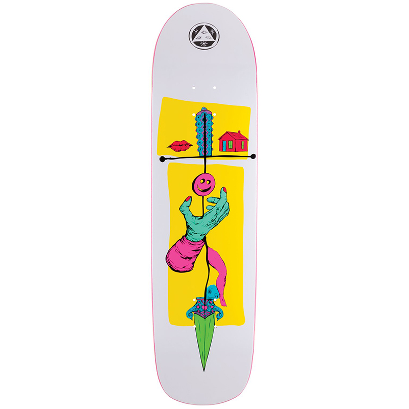 Welcome Obelus On Son Of Planchette Skateboard Deck Assorted Colours 8.38