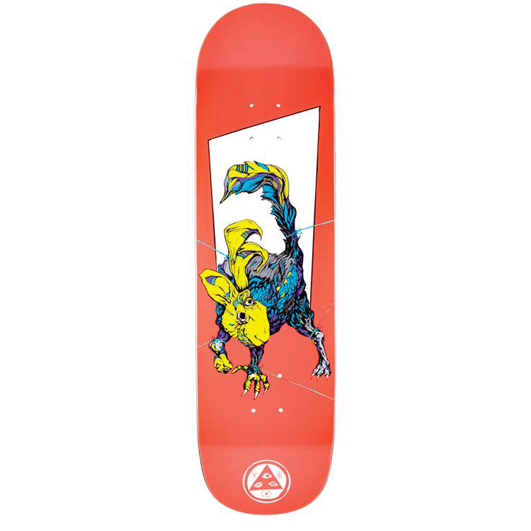 Welcome Pack Rabbit On Big Bunyip White Lightning Skateboard Deck Assorted Colours 8.5