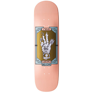 Welcome Philosopher's Hand Jordan Sanchez Pro Model On Nibiru Skateboard Deck Coral 8.75
