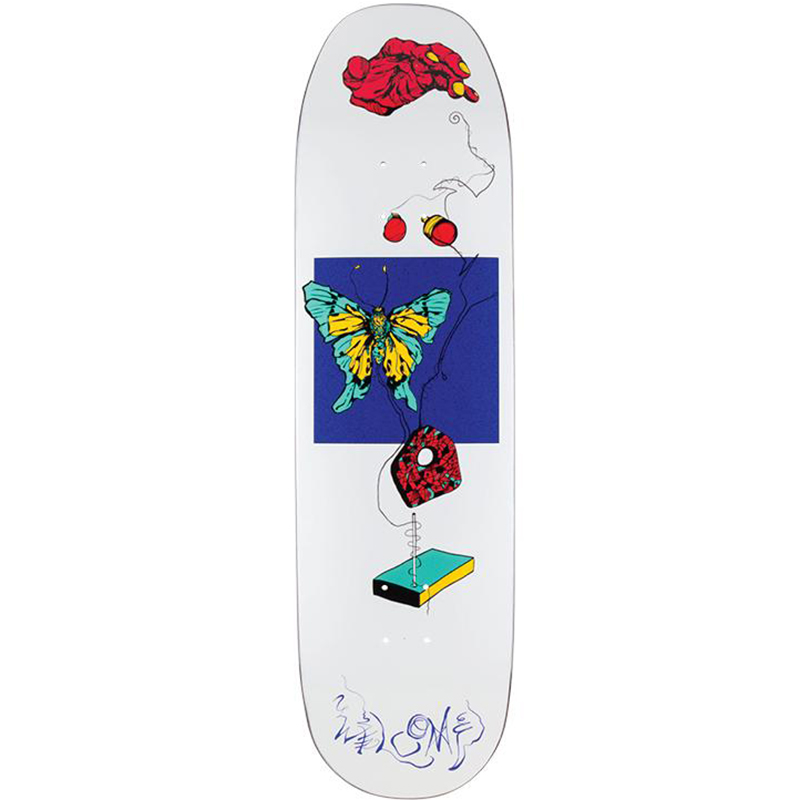 Welcome Puppet Master On Baculus White Lightning Skateboard Deck Assorted Colours 8.75