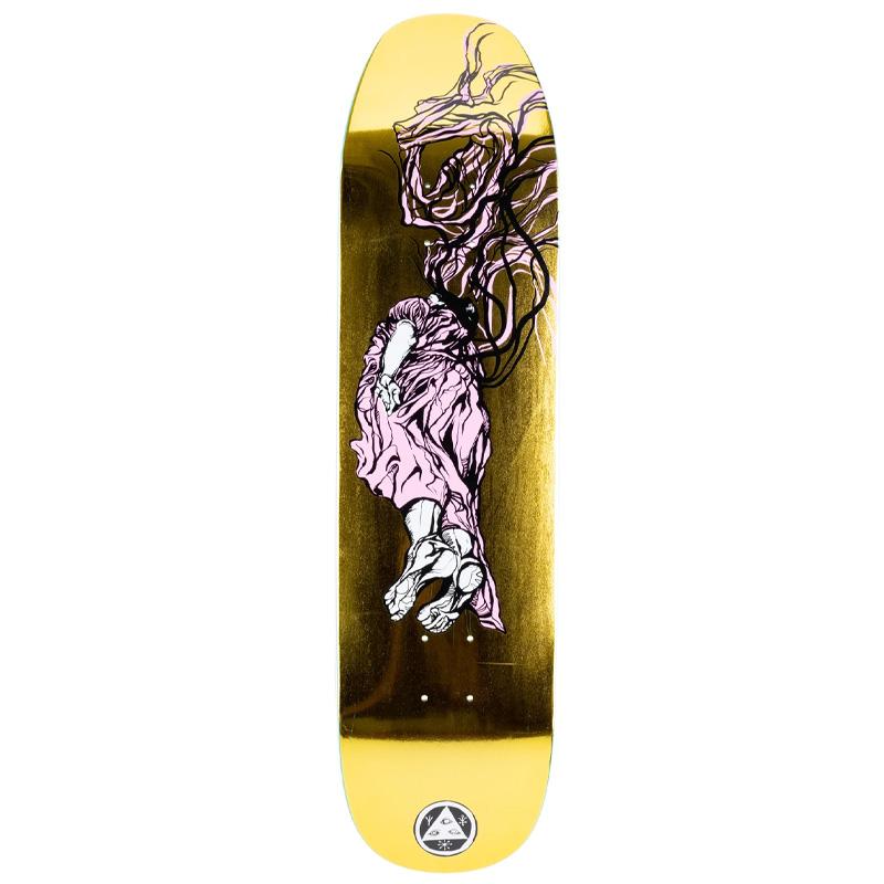 Welcome Transcend on Son of Moontrimmer Skateboard Deck Gold Foil 8.21