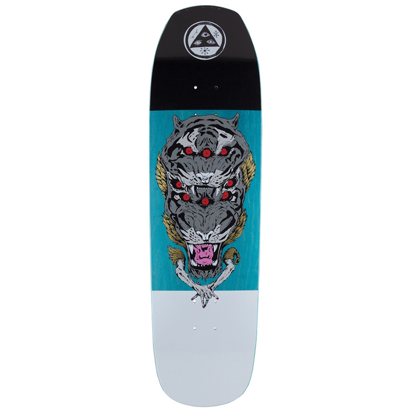 Welcome Triger On Banshee 90 Skateboard Deck 9.0