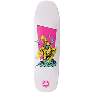 Welcome Twenty Eyes On Golem Skateboard Deck White Dip 9.25