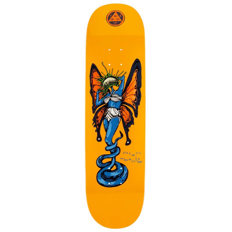 Welcome Venus Ryan Townley Pro Model On Enenra Skateboard Deck Gold 8.5