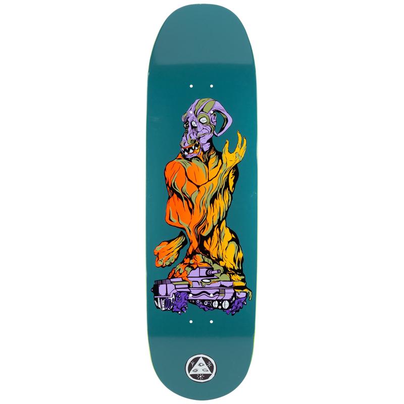 Welcome Warren Peace On Buculus 2 Skateboard Deck Dusty 9.0