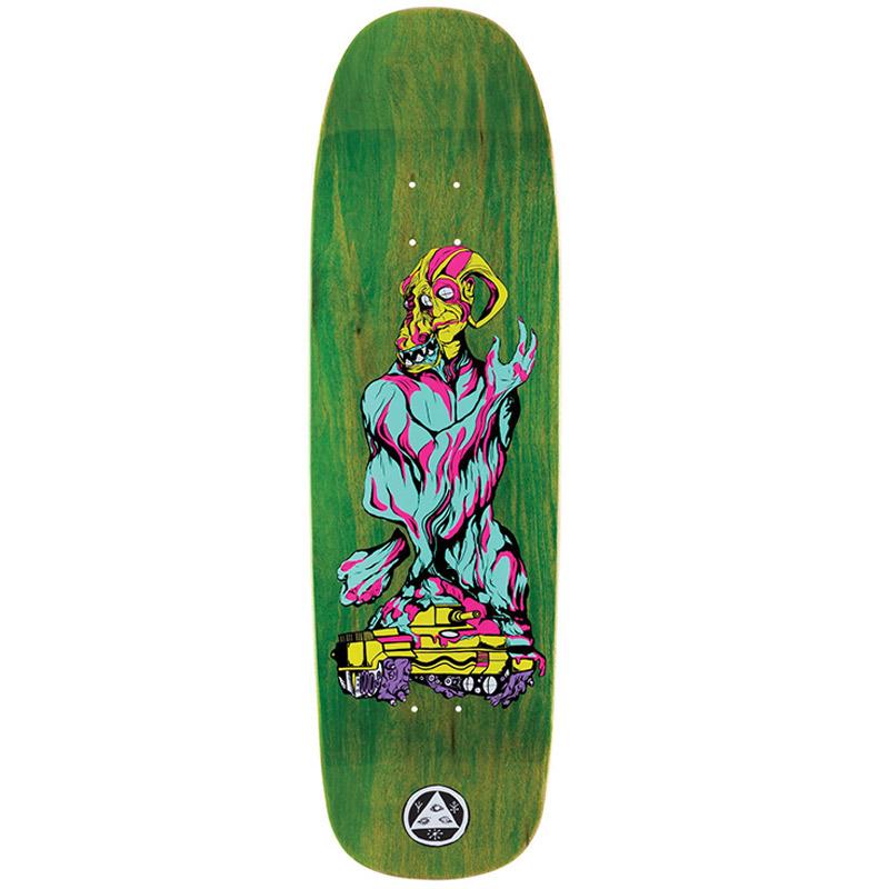 Welcome Warren Peace On Golem Skateboard Deck Various Stains 9.25