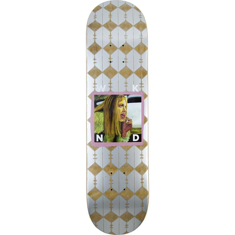 WKND AJ Babe Skateboard Deck Purple 8.0
