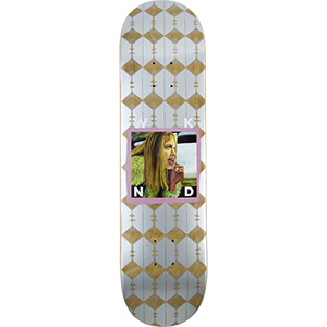 WKND AJ Babe Skateboard Deck Purple 8.25
