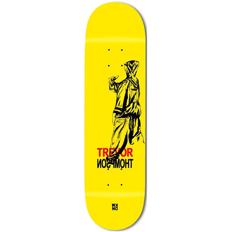 WKND Big Whaler Trevor Thompson Skateboard Deck Yellow 8.25