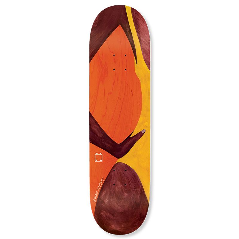 WKND Butt Johan Skateboard Deck 8.5
