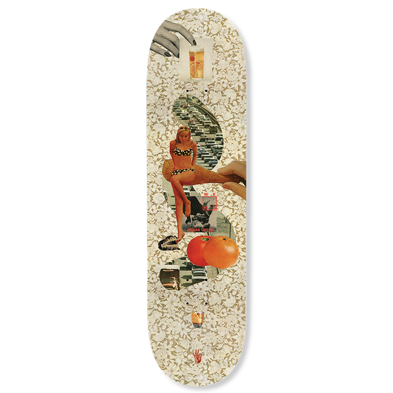 WKND Collage Jordan Skateboard Deck 8.18