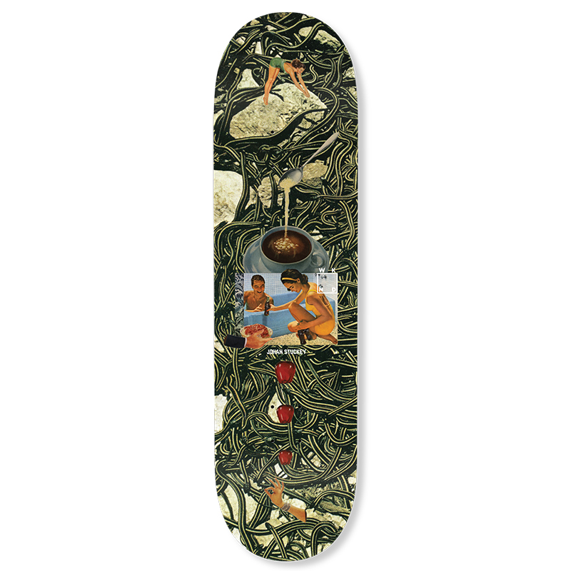 WKND Collage Stuckey Skateboard Deck 8.6